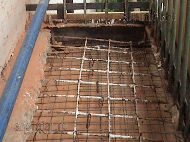 Как сделать балкон из бетона 947