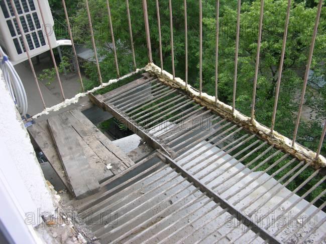 Как сделать балкон из бетона 360