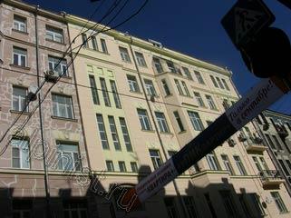 Вид на отремонтированный фасад после окончания ремонта фасада по первому этапу работ.