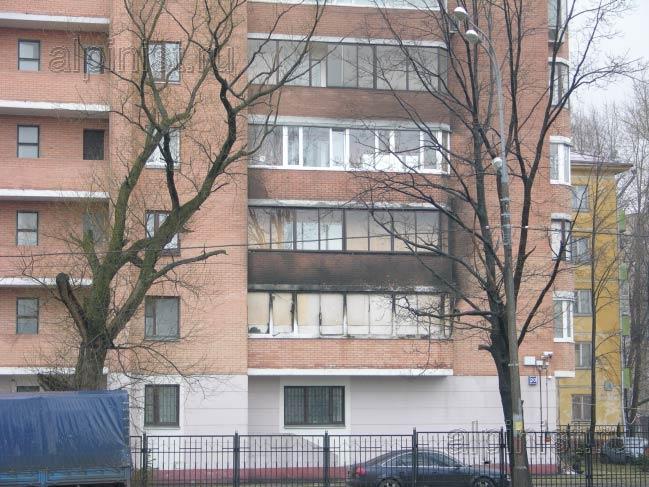 балконы 3,4 этажа покрылись нагаром, мы будем очищать специальными средствами для очистки