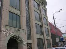 Здание, на котором наши альпинисты мыли окна, имело П - образную форму, на данной фото показана часть фасада с левой стороны