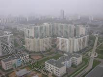 Утро туманное... Вид  города Москвы, с высоты промальпиниского, фу ты, птичьего полёта великолёпный, не правда ли?