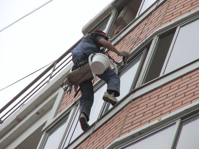 Герметизация балкона после остекления, устранение протечек к.
